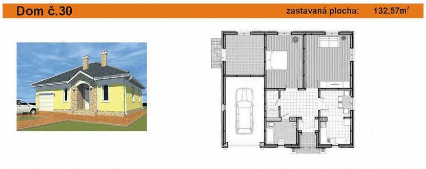 Dom s garážou